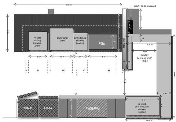 Modern kitchen floor plans 28 images kitchen layouts Modern kitchen floor plans